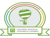 Universal Design in Teaching and Learning Logo